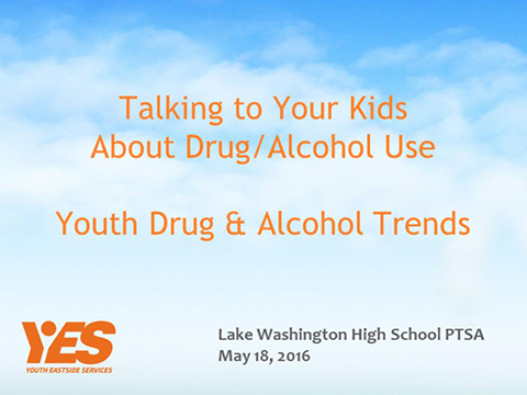 Talking to your Kids about Drug/Alcohol Use