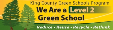 King County Green Schools Program - Level 2 Award